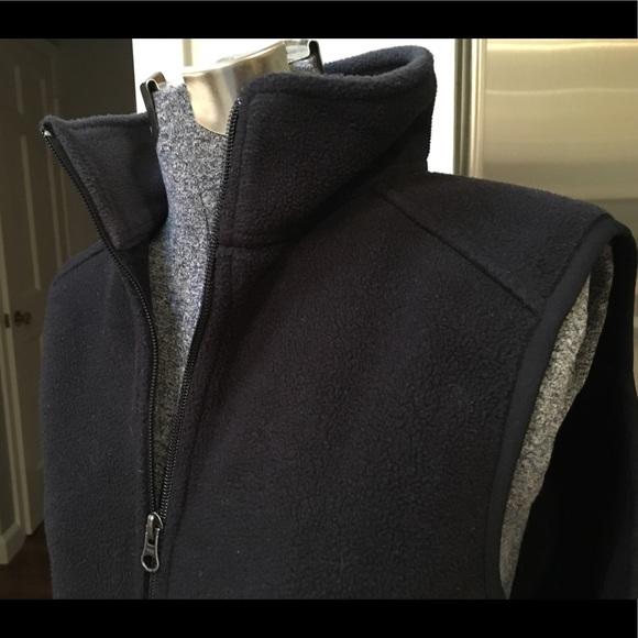 L.L. Bean Jackets & Blazers - LL Bean black fleece vest